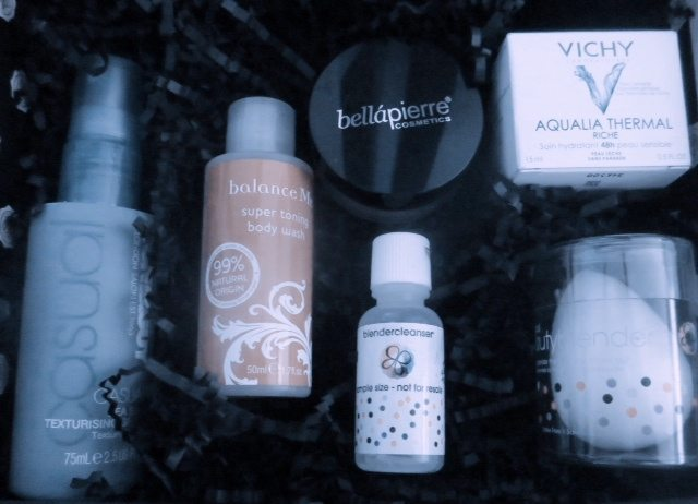 January GLOSSYBOX Beauty Contents