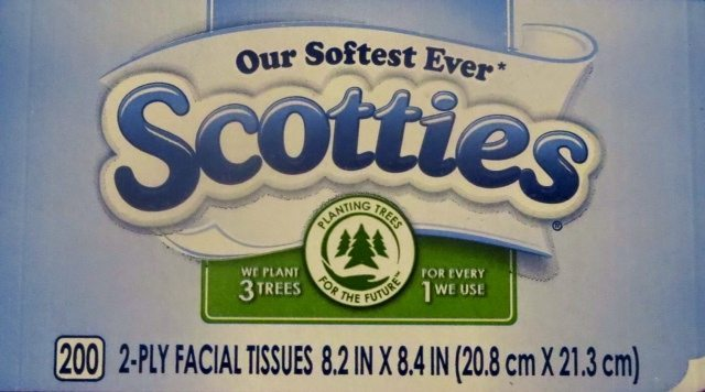 Scotties Tissues to the Rescue!