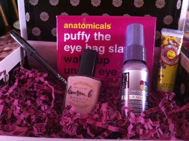 February 2014 GLOSSYBOX Contents