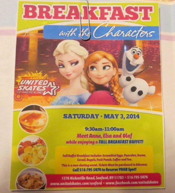 Elsa, Anna Olaf Breakfast!