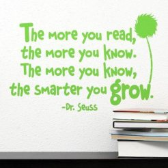 The More You Read Quote..
