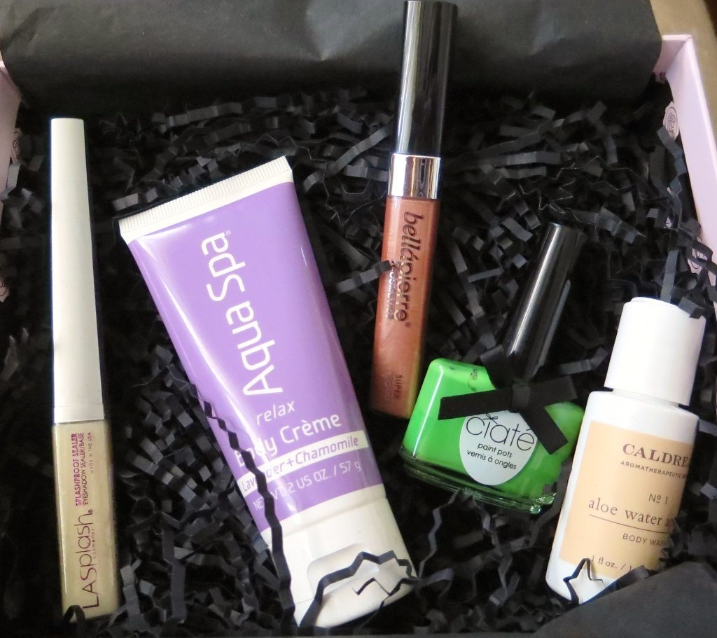 April GLOSSYBOX Contents