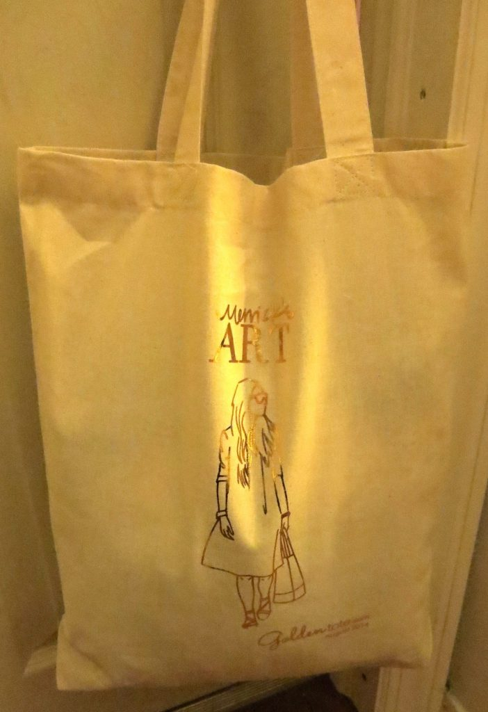 August Golden Tote