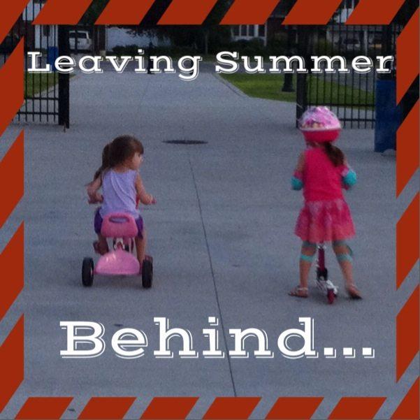 Leaving Summer Behind