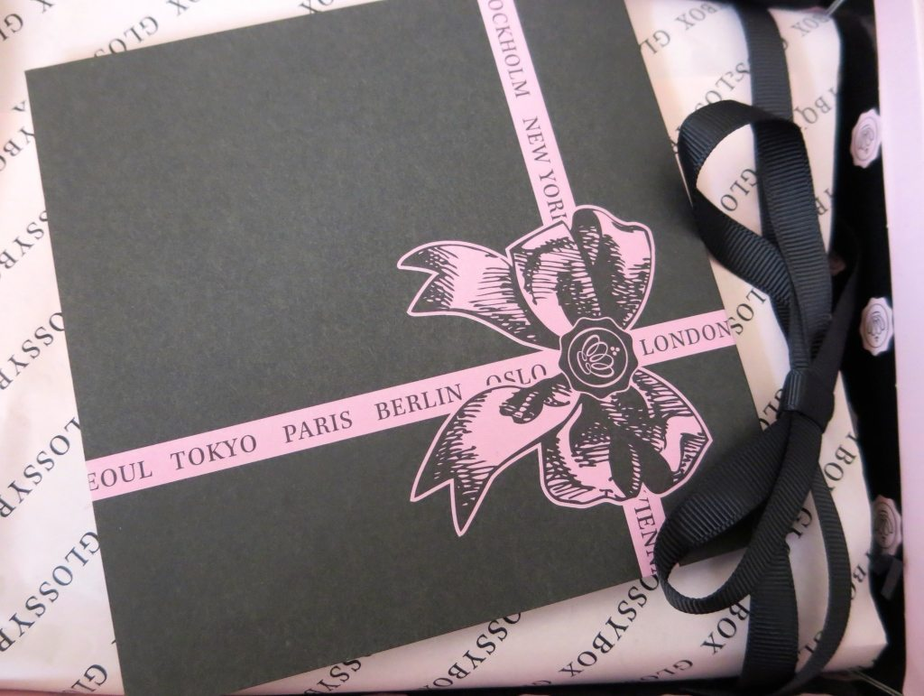 Glossybox 3rd Birthday Box with Card