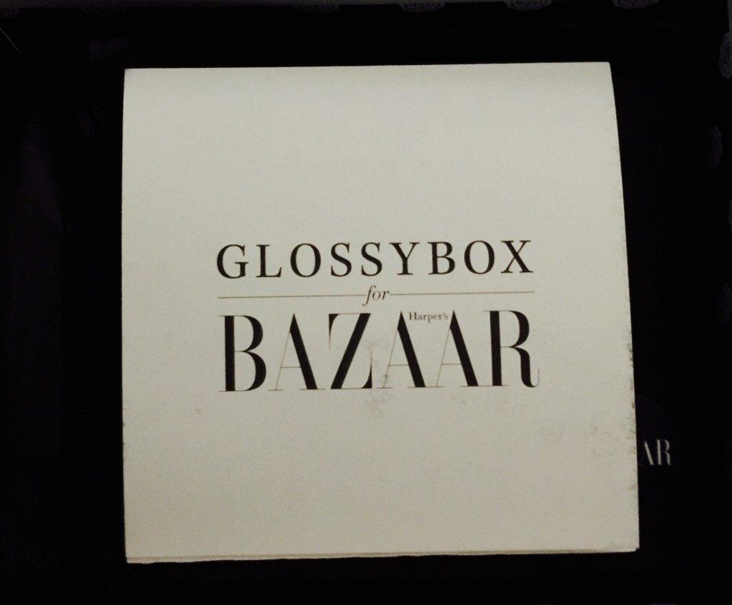 Harper's Bazaar GlossyBox Card
