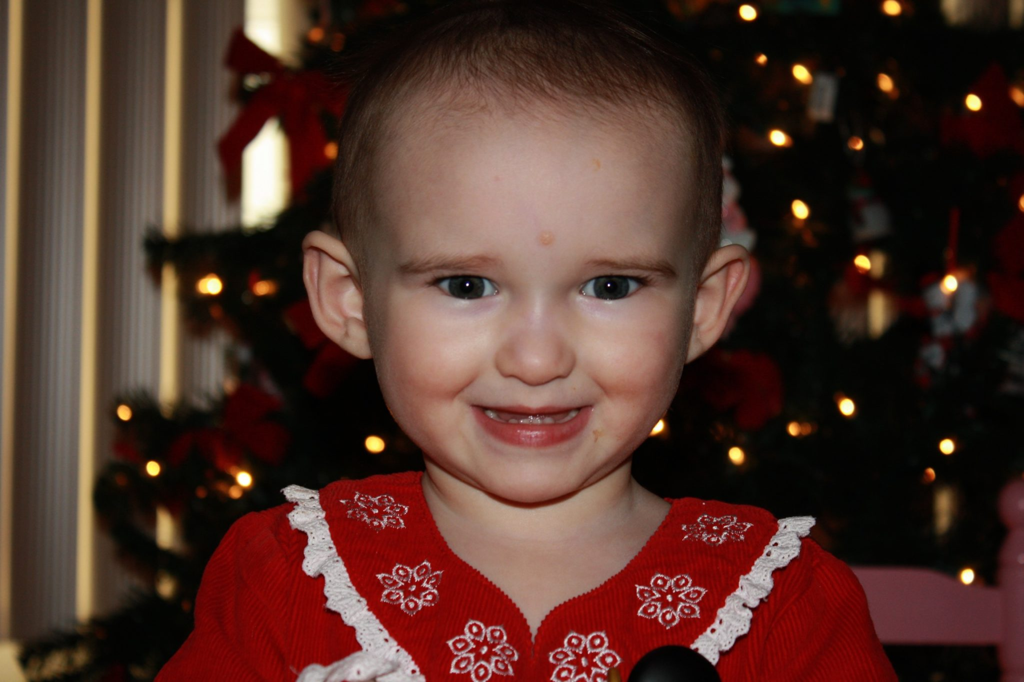 And who could forget, Emma - Baby #1 Who Still Wasn't Sleeping Through the Night By Her Second Christmas