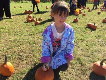 Happy 'Pumpkin Picking' Halloween from Emma & Wonderful Wednesday