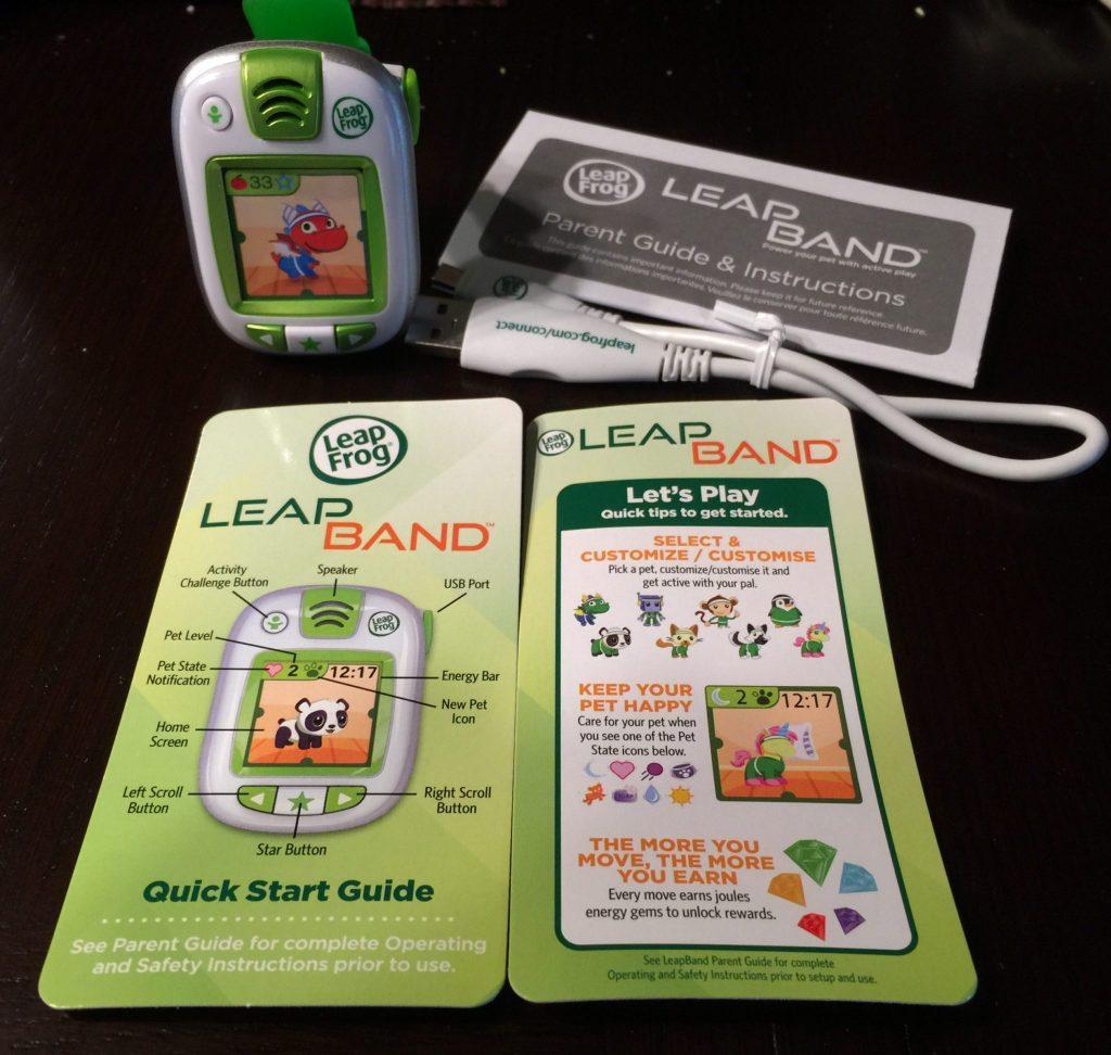 LeapBand Contents