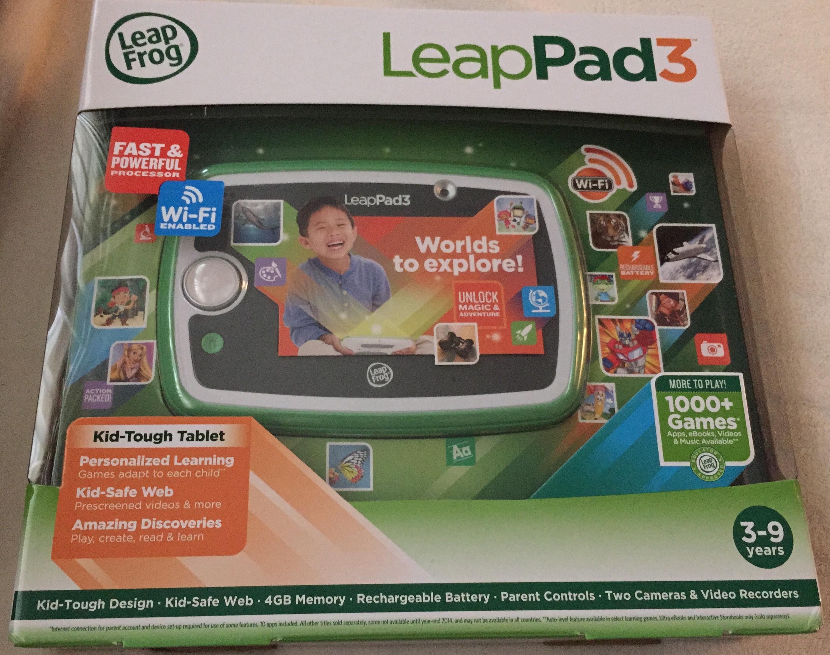 LeapFrog LeapPad 3 - Kid\'s Educational Games & Learning Tablet ...