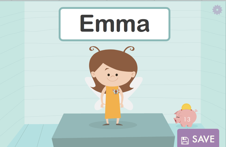 Here is Emma's Own Personal Avatar!