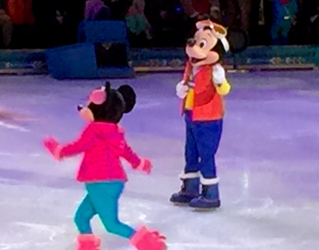Mickey and Minnie Introducing the Frozen on Ice Show