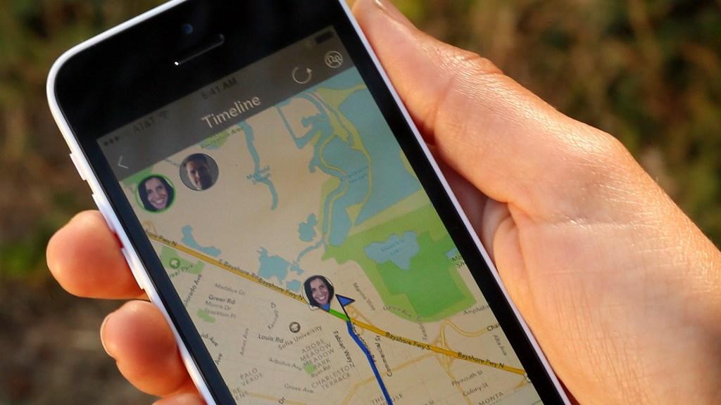 PlaceUs App Map