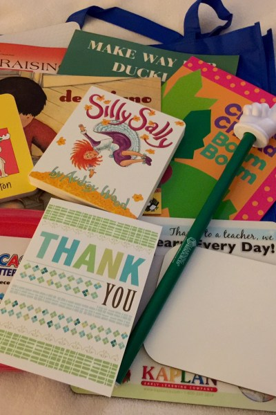 Thank you BrightStart! Reading Swag Bag