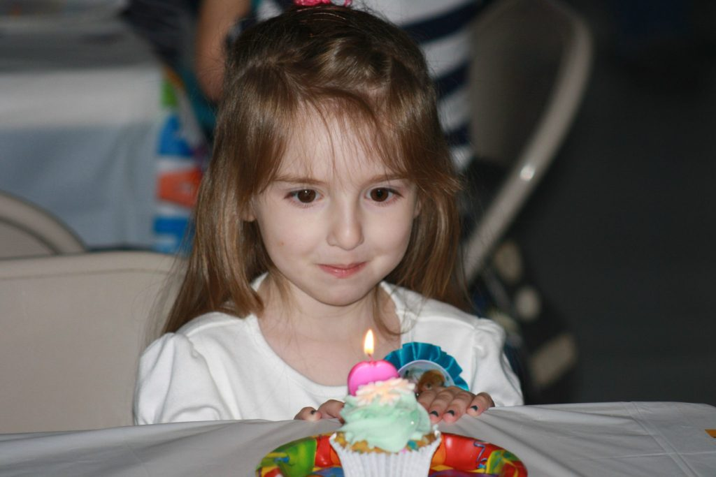 This past November, we partied it up for her 4th birthday!