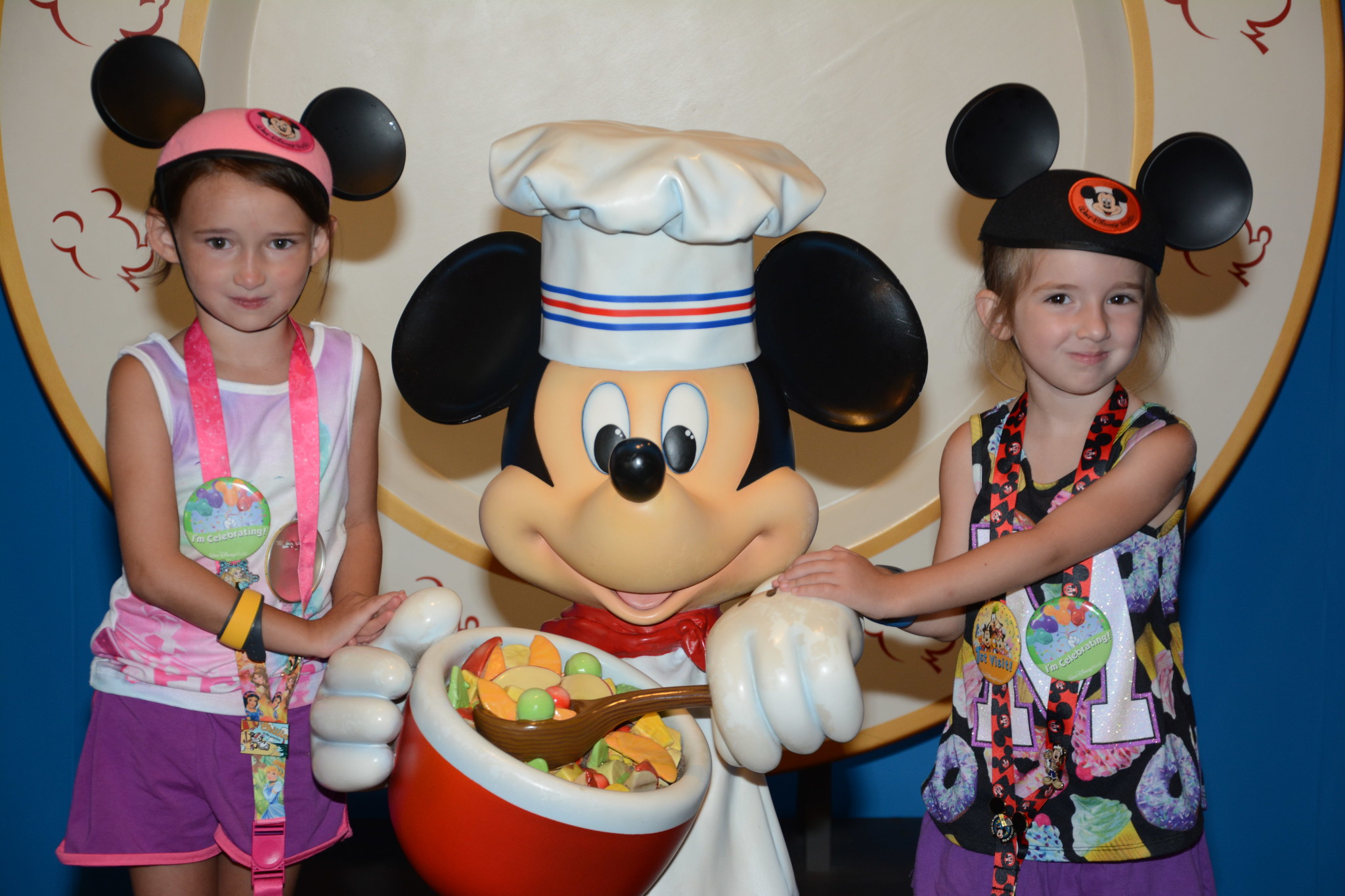 After the meltdown at Chef Mickey's in Disney's Contemporary Resort