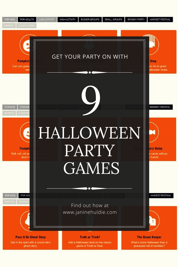 9 Halloween Party Games