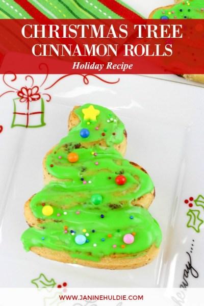 Christmas Tree Cinnamon Rolls Recipe