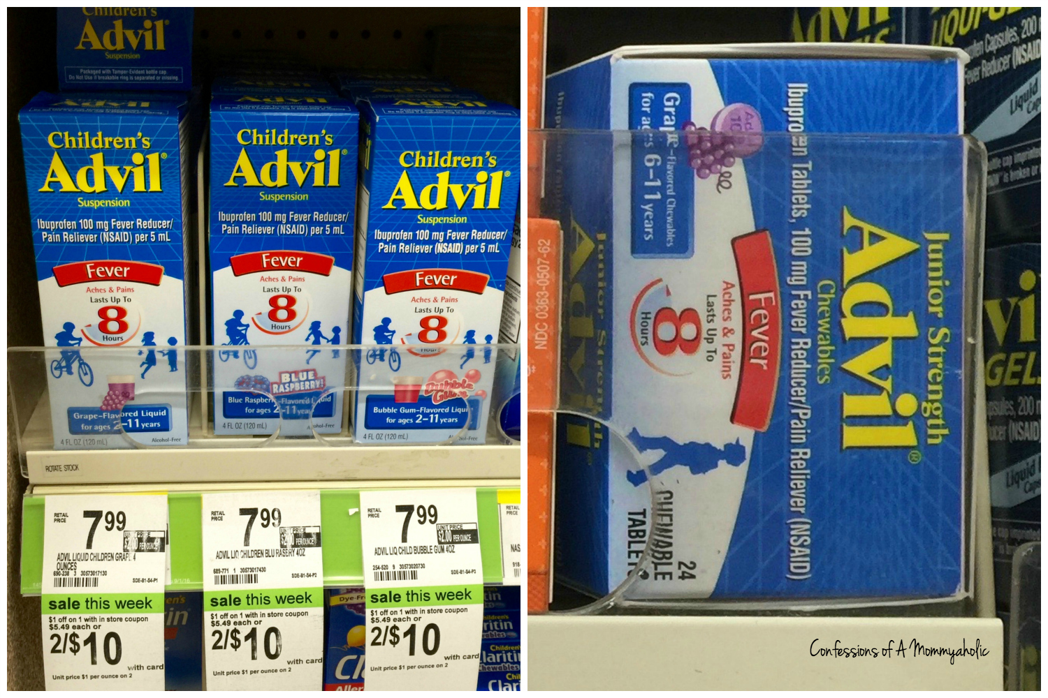 Walgreen's-Children's-Advil-Products