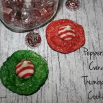 Peppermint Candy Thumbprint Cookies 2