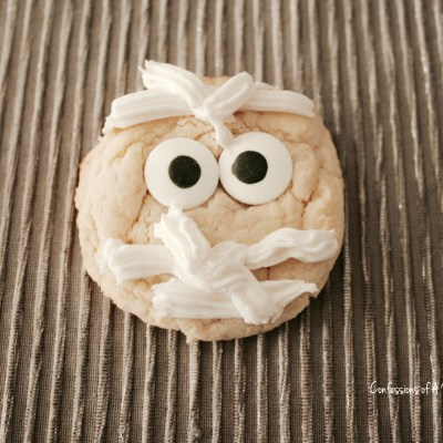 Spooky Yummy Mummy Cookies Recipe