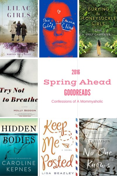 2016 Spring Goodreads