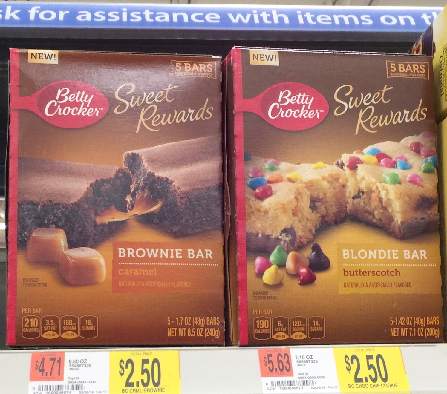 Betty Crocker™ Soft Baked Bars