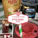 How to Enjoy A New After School Snack W/Smoothie Recipe