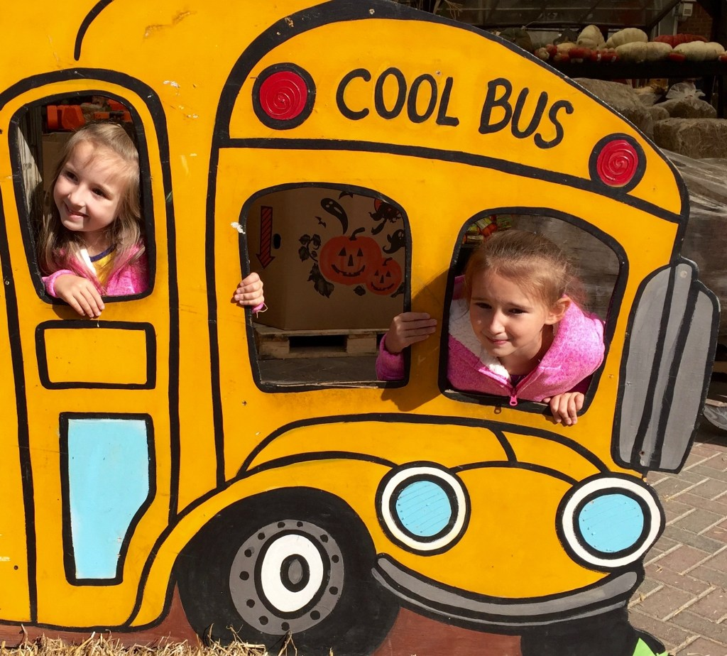 On the Cool Bus for After School Snacks