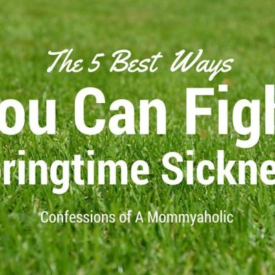 The 5 Best Ways You Can Fight Springtime Sickness Featured