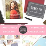 How to Make Truly Customized Thank You Cards Using Basic Invite