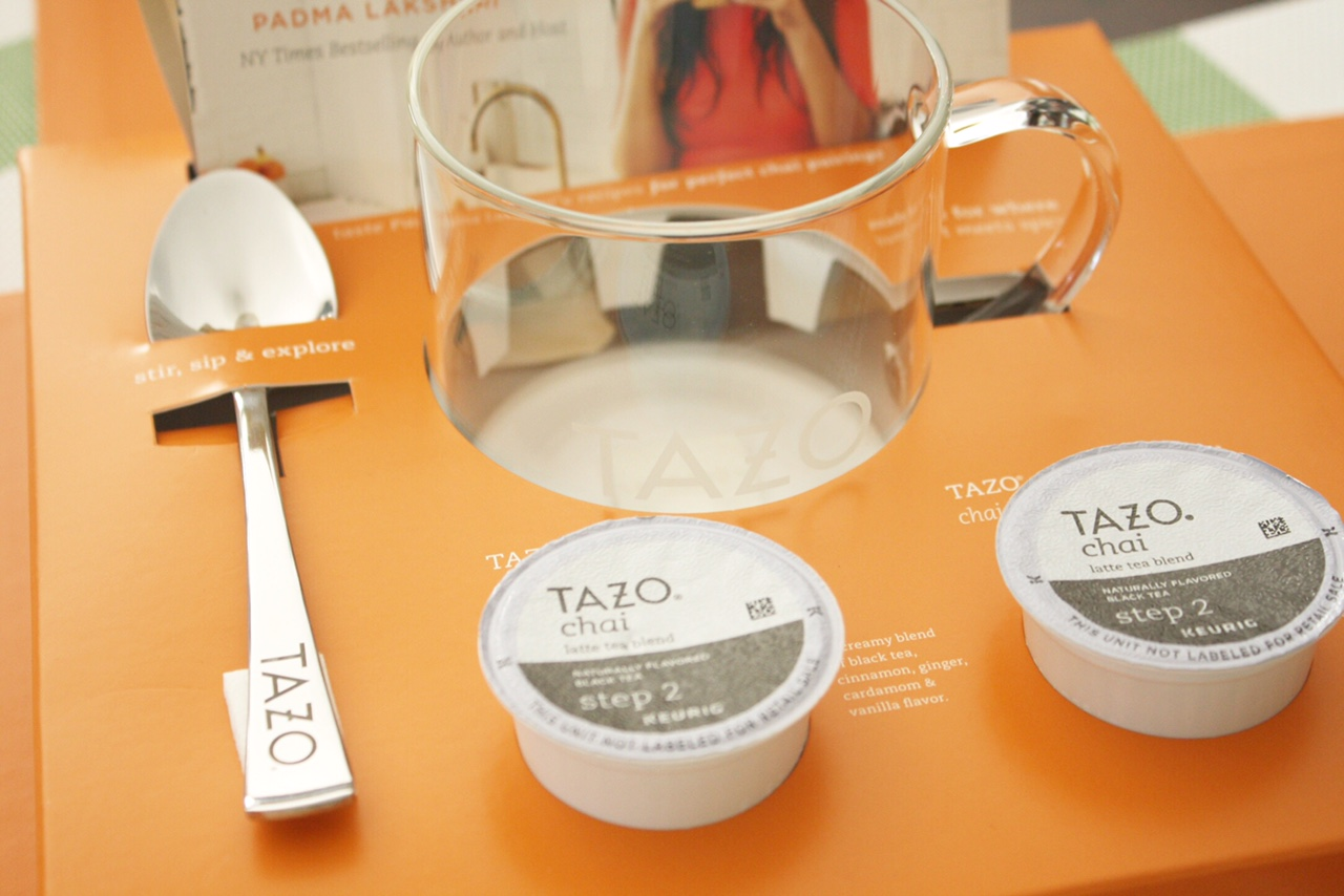 Spoon Cup and Tazo K-Cup
