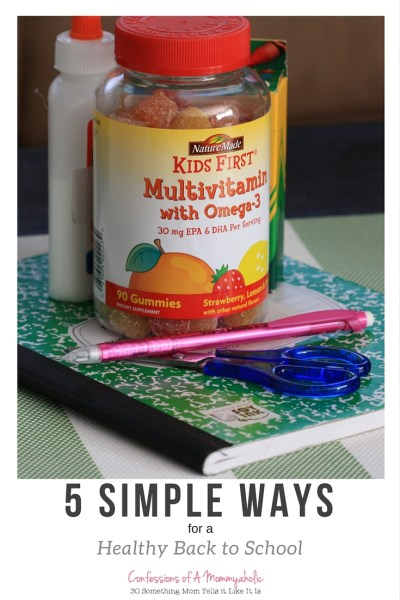 5 Simple Ways to a Healthy Back to School