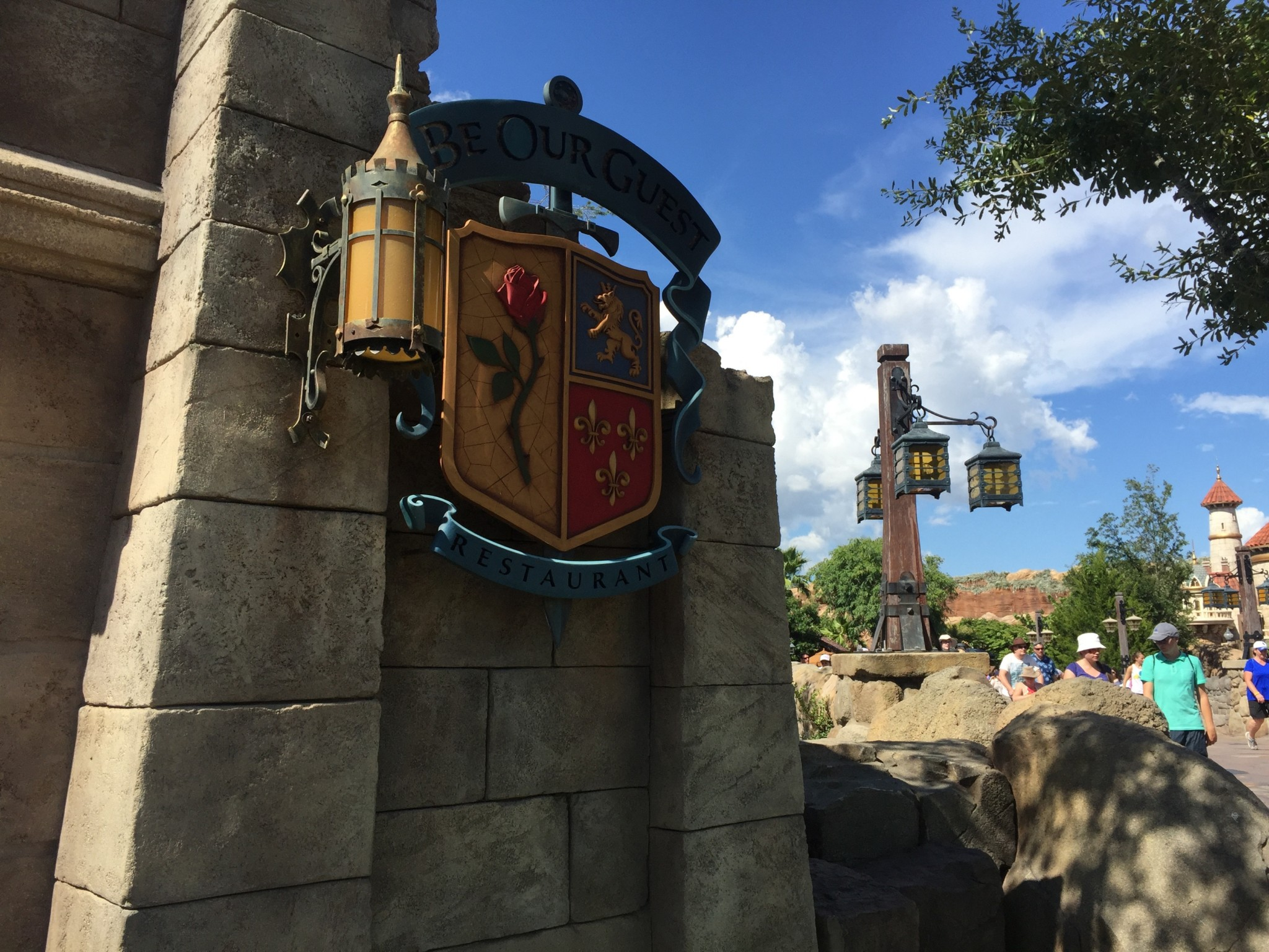 Be Our Guest Magic Kingdom Disney World