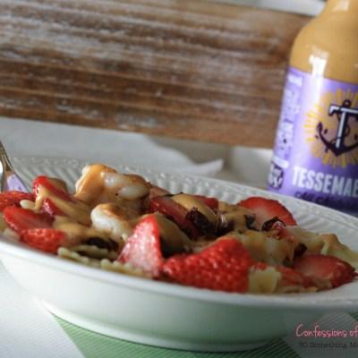 Honey Balsamic Fruit Pasta Salad