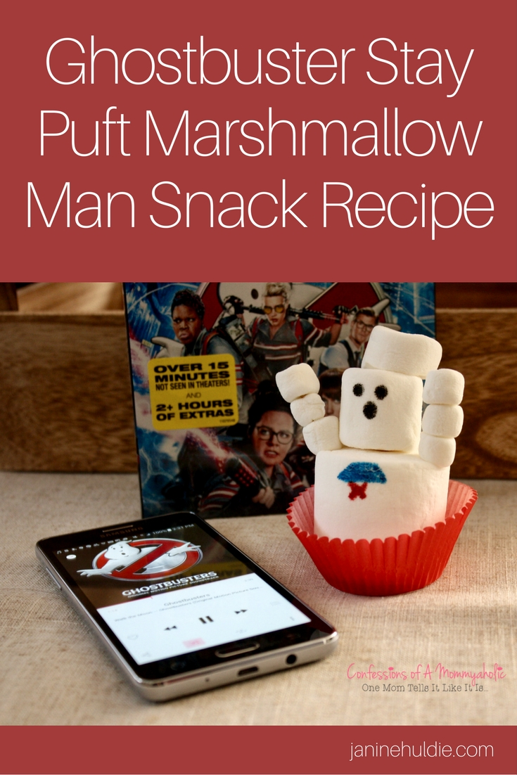 GHOSTBUSTER STAY PUFT MARSHMALLOW MEN TREATS