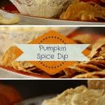 Pumpkin Spice Dip Appetizer