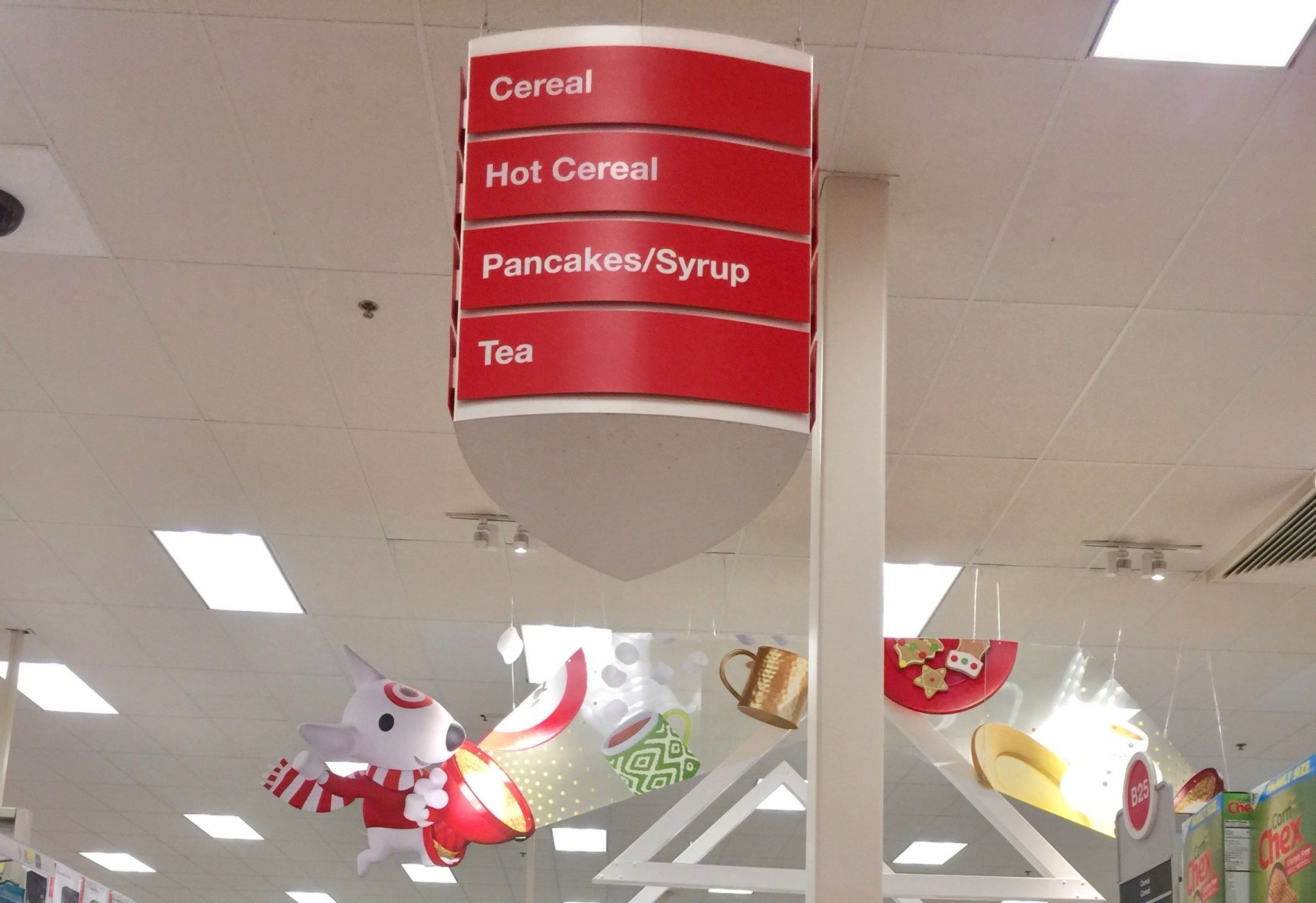 Cereal Aisle at Target