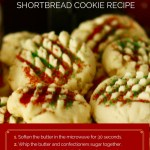 Easy Whipped Christmas Shortbread Cookies