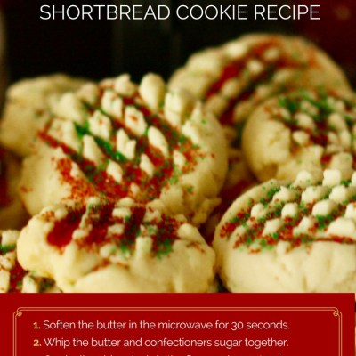 Easy Whipped Shortbread Cookies Recipe