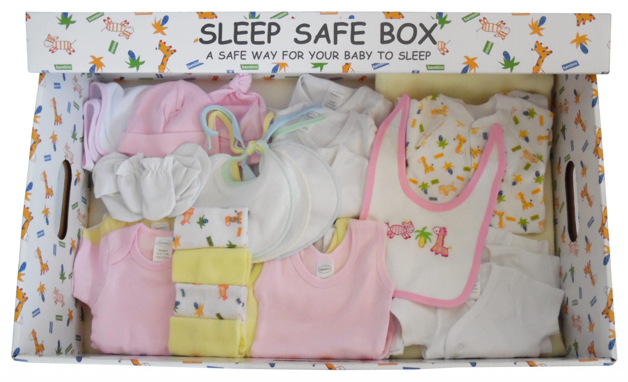 The Sleep Safe Baby Gift Box