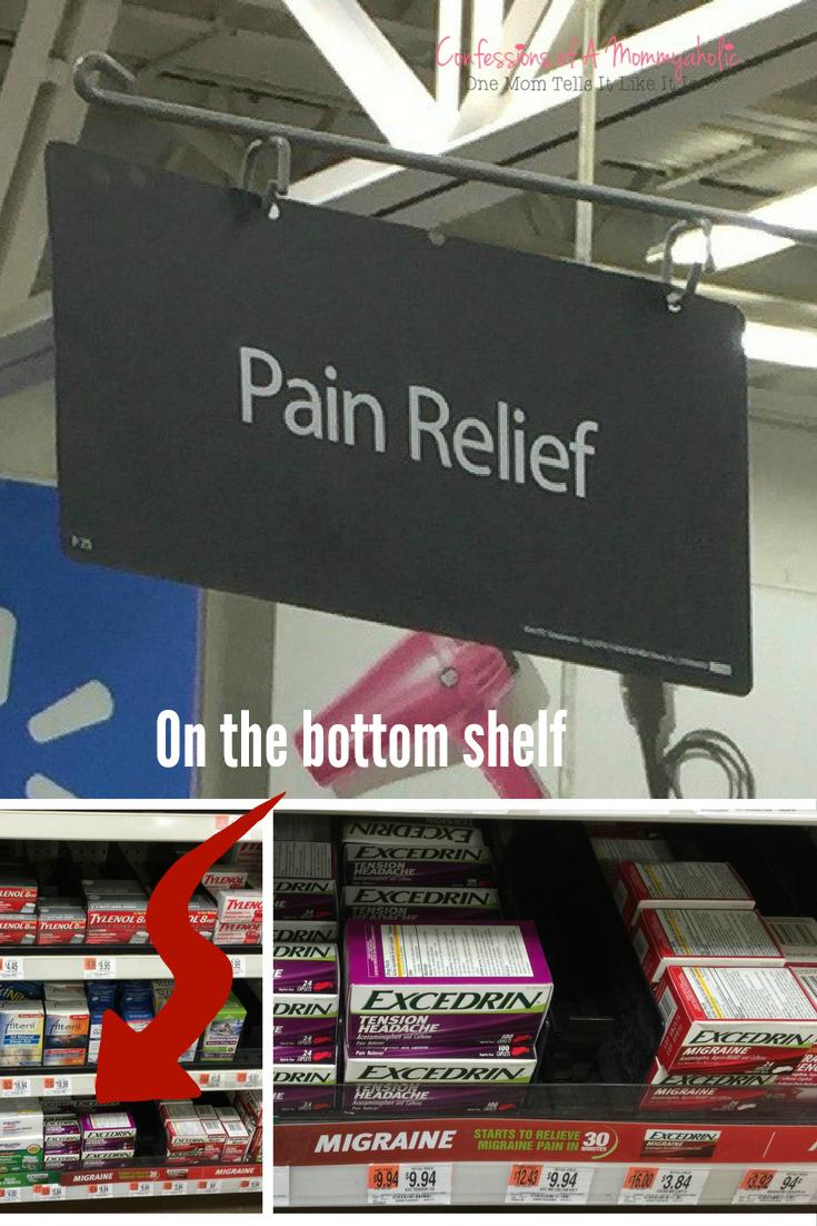 Walmart Pain Relief - Excedrin