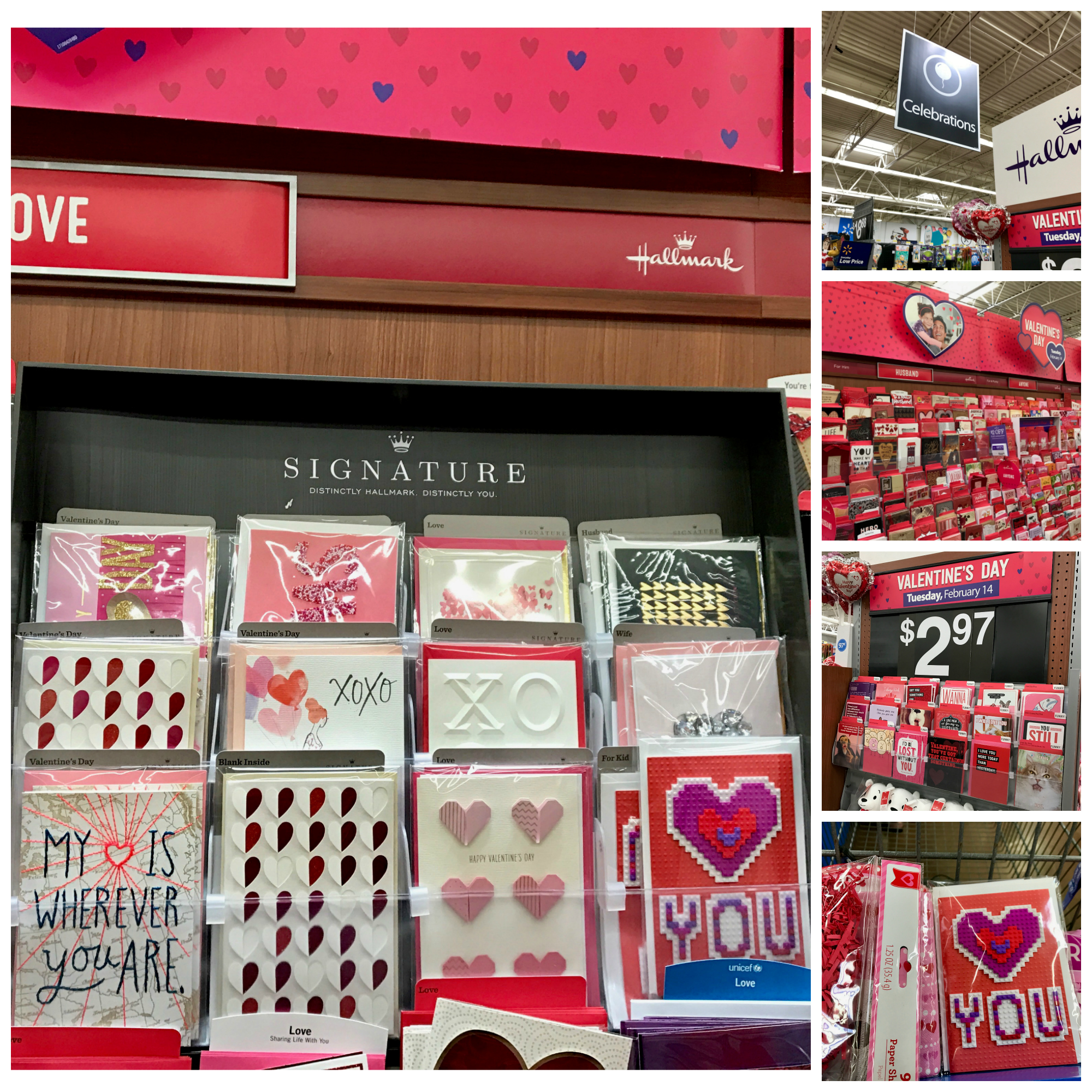 Hallmark Signature Cards Valentine's Day at Walmart