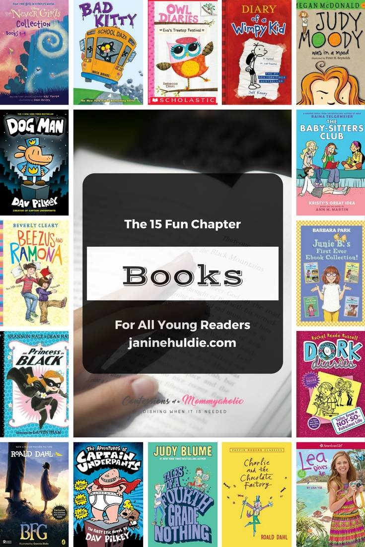 15 Fun Chapter Books for Young Readers
