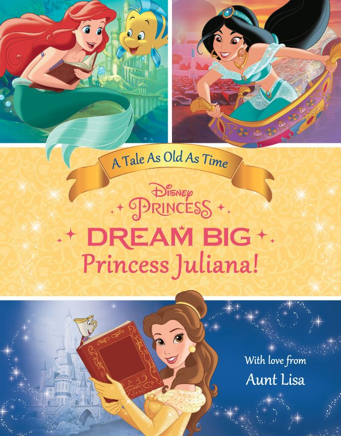 FLAT COVER - Dream Big, Princess Belle's Special Edition
