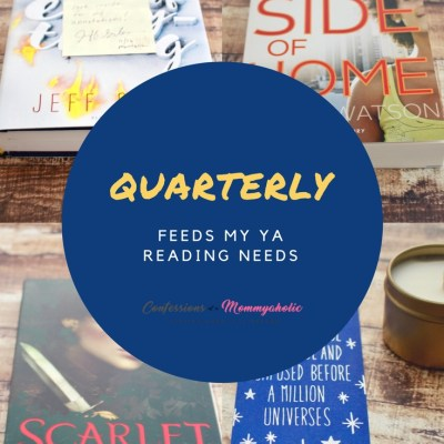 Quarterly Feeds My YA Reading Needs
