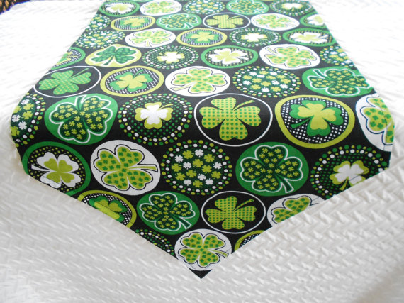 St Patricks Day Table Runner