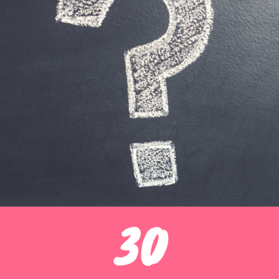 30 Random Questions About Yours Truly Answered