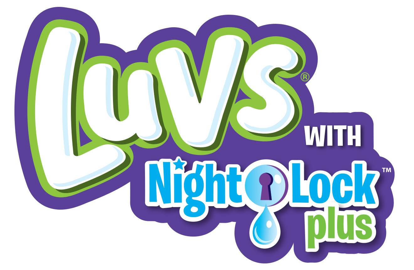 Luvs Diapers Night Lock