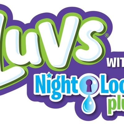 Luvs Diapers Night Lock